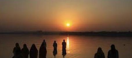 * Ведический праздник (фестиваль) Сурья-Шашти (Сурйа-Чхатх) с Сурья-Пуджей *