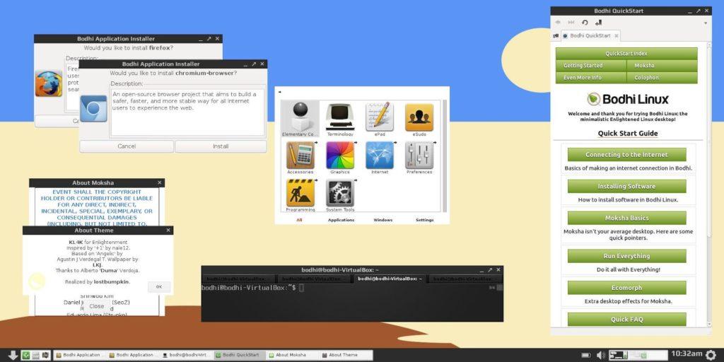 *** Как отказаться от ОС Windows и установить Ubuntu — впечатления и результаты Bodhi Linux ***